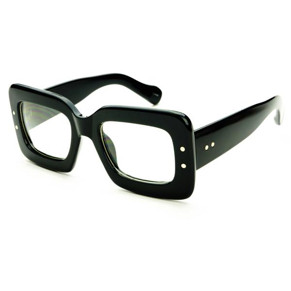 Unique Square Frame Retro Vintage Style Clear Lens Eye ...