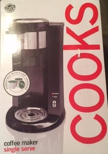 Coffee Makers Compatible With Keurig : Cooks Single-Serve Coffee Maker Compatible with Keurig K-Cup packs New !!! 78055150018 eBay