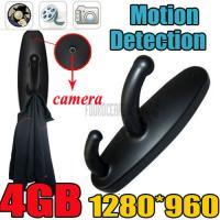 4GB Motion Detection Spy Clothes Hook Camera Hidden DVR