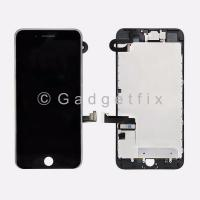 Earpiece Speaker IPhone7 Black Proximity Sensor For iPhone 7 Screen Replacement Black 4.7 LCD Display Replacement 3D Touch Screen Digitizer Full Assembly Screen Protector Front Camera
