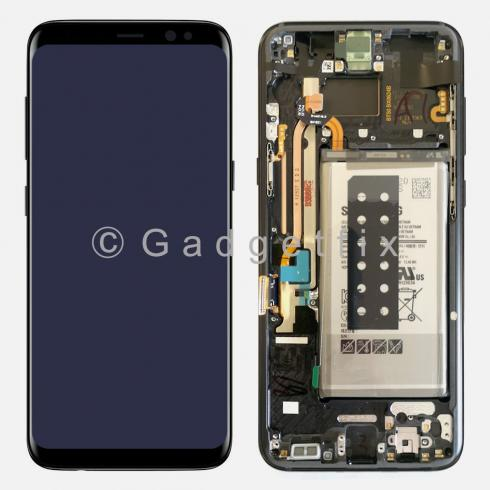 US Display LCD Touch Screen Digitizer + Battery For Samsung