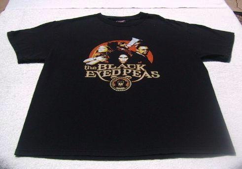 BLACK EYED PEAS u.s. tour LARGE concert T SHIRT