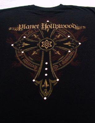 Planet hollywood orlando florida medium t shirt ebay for Planet hollywood t shirt