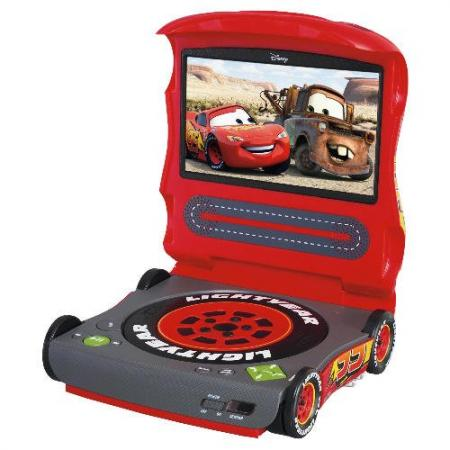 disney cars lightning mcqueen portable dvd player bnib ebay. Black Bedroom Furniture Sets. Home Design Ideas