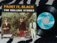 THE ROLLING STONES Paint It, Black 45 RPM SINGLE + PS