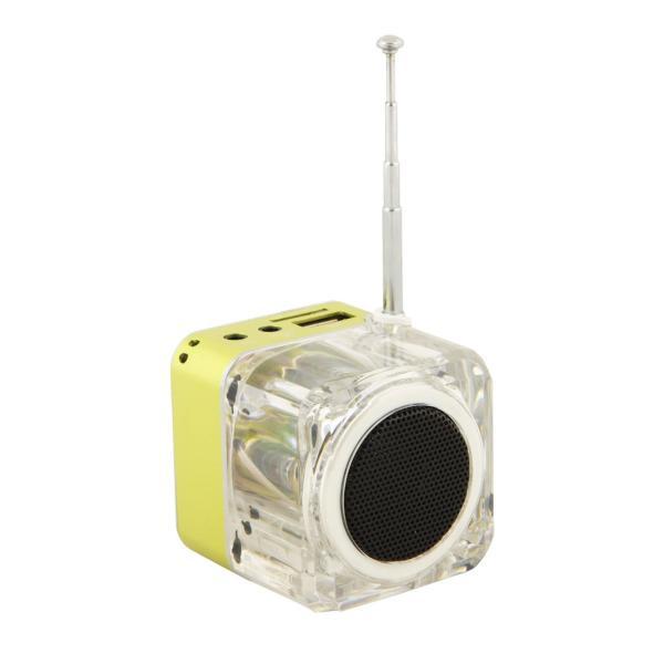 Nizhi Tt 029 Lcd Portable Fm Radio Clock Alarm Usb Tf Mp3
