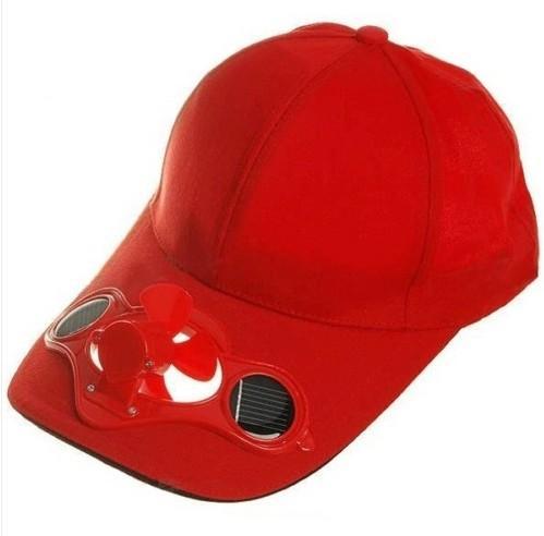 Solar Power Fan Hat Cap Cooling Cool Fan For Golf Baseball