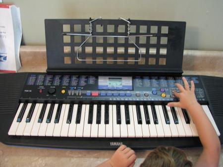 Yamaha psr 78 electronic keyboard piano portatone exc ebay for Yamaha portatone keyboard