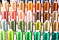 1000 meters Cones Machine Embroidery Threads