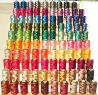 100 Large Embroidery Threads