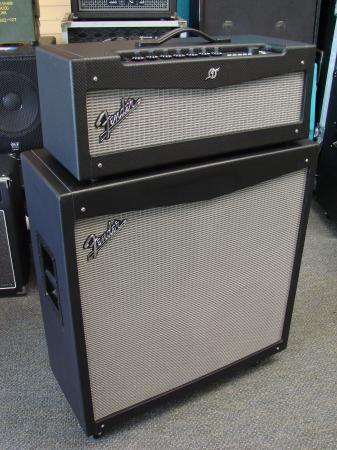 fender mustang v amp head speaker cabinet stack guitar amplifier 4x12 cab. Black Bedroom Furniture Sets. Home Design Ideas