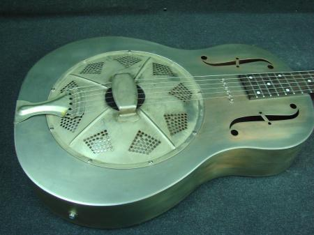 regal rc 43 steel acoustic electric resonator guitar w p 90 novak rc43 p90 ebay. Black Bedroom Furniture Sets. Home Design Ideas