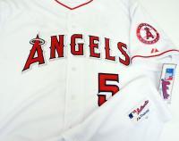 Pujols Authentic LA Anaheim Angels Home Jersey SZ 52 (2XL)