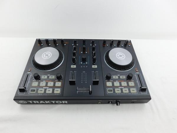 traktor kontrol s2 mk2 hw mixing board dj control board mixer track control ebay. Black Bedroom Furniture Sets. Home Design Ideas