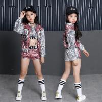 Girls Cotton Ballroom Modern Jazz Hip Hop Dance Wear Vest Tops Pants Dancewear