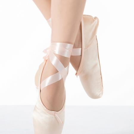 Pink Ballet Dance Toe shoes Professional Ladies children's ...
