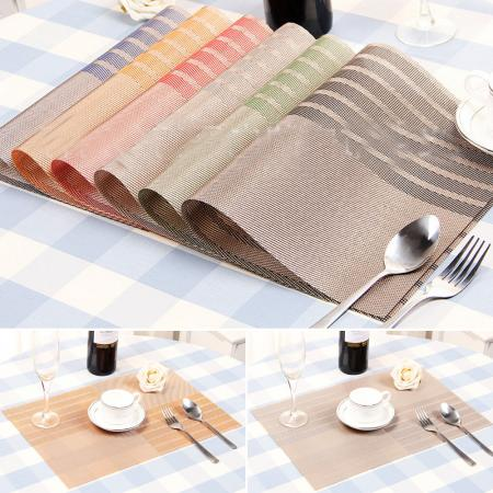 Kitchen table mats insulation bowl high grade placemats dining room pad sales - Dining room table mats ...