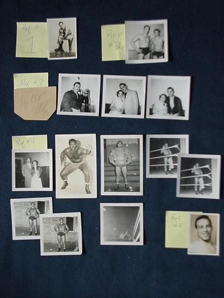 vintage wrestling memorabilia 1950s  photos  signatures   ebay