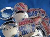WHOLESALE LOT OF 22 AMERICANS ARE DREAMERS TOO TRUMP BUTTONS 2020 USA FLAG GOP