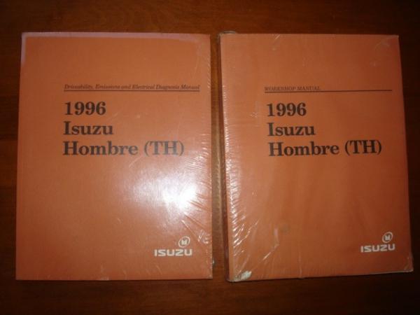 New 1996 Isuzu Hombre Th Service Manual Emission Wiring  2