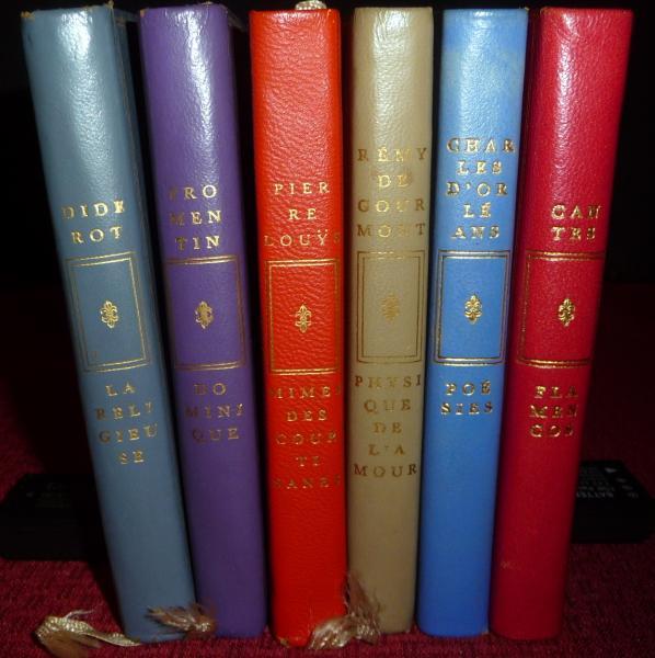 Ltded Collection Privilege Club Francais Du Livre 6v