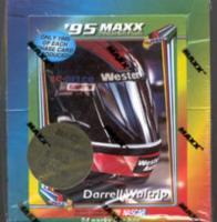 Maxx Racing Chrome Trading Card NASCAR Box