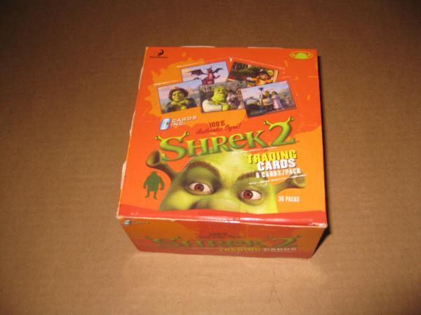Shrek 2 Trading Card Box Ebay