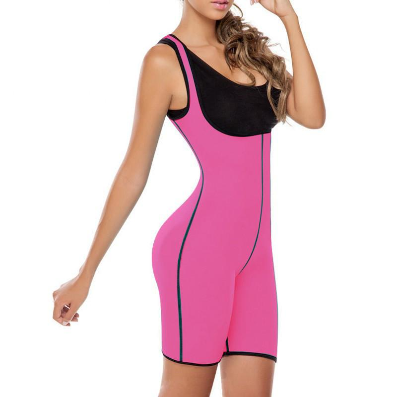 Slim women full body neoprene shapewear shaper weight loss sauna vest