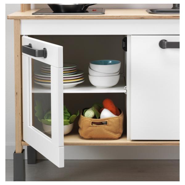 Ikea Duktig Kids Play Wooden Kitchen Bench Oven Sink