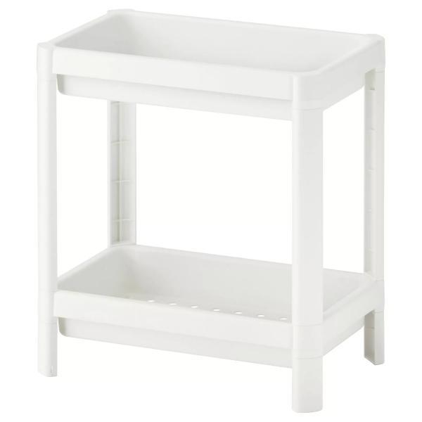 IKEA VESKEN Bathroom Storage Unit Shelf 40cm Height Under ...