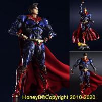 DC Comics Variant Play Arts Kai SuperMan PVC Action Figure Statue
