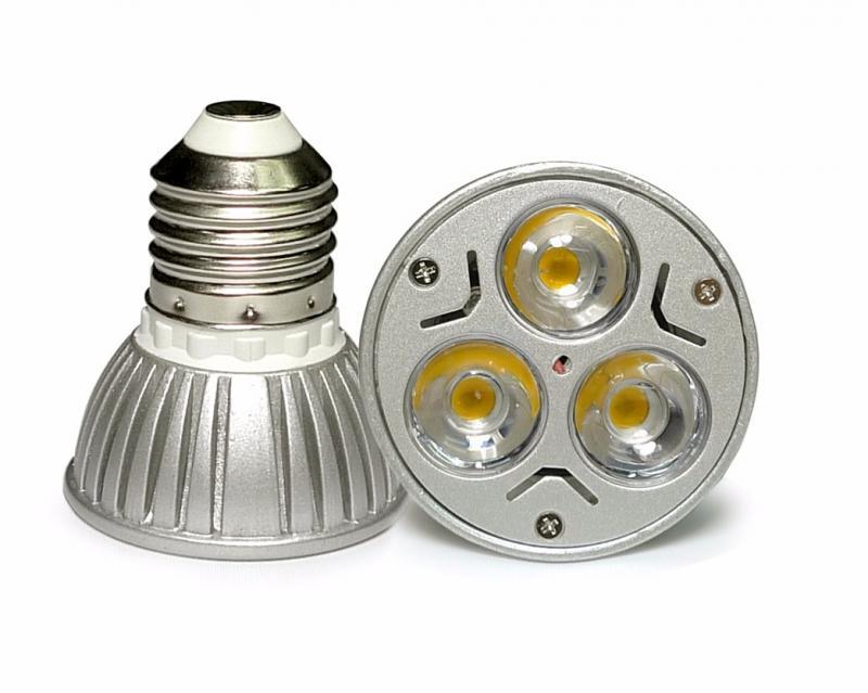ac dc 12v 12 volt 3w 1w x 3 led light bulb e26 e27 par16 screw socket lamp ebay. Black Bedroom Furniture Sets. Home Design Ideas