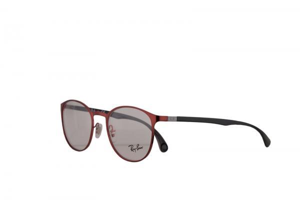 a18dbe07d2 Ray Ban RX6355 Eyeglasses 50-20-145 Shiny Red w Demo Lens 2922 ...