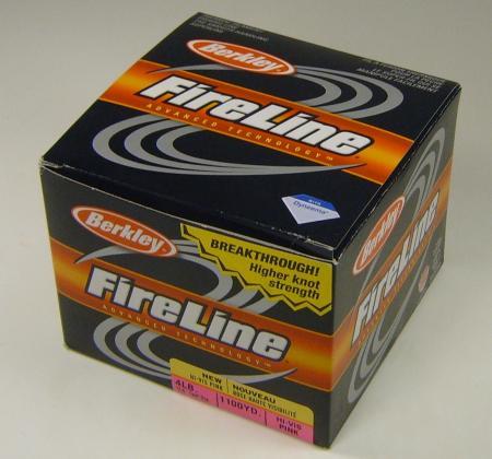 1100 yd 4lb berkley fire line fireline high vis pink braid for Pink braided fishing line