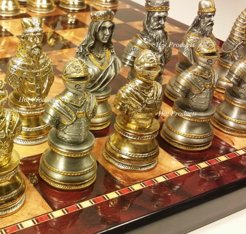 Medieval Chess Sets Car Interior Design