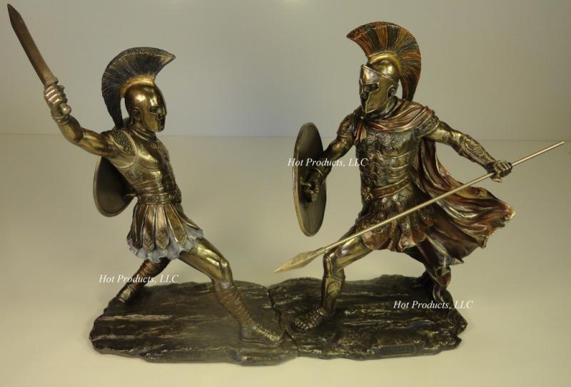 Achilles Vs Hector Battle Of Troy Greek Mythology