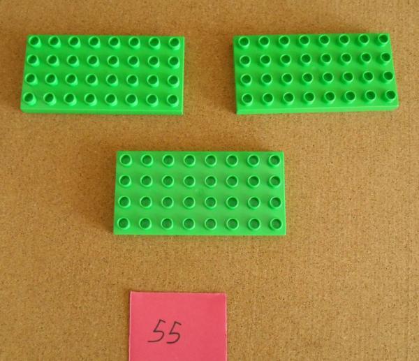 LEGO  LOT  BLACK  BRICK  8X8  THIN  PLATE