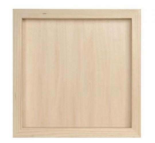 Details about Bare Wood 12x12 SHADOW BOX PICTURE FRAME