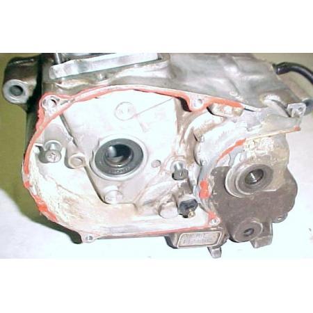 77 honda xr75 xr 75 a oem engine motor crank case set for Ebay motors shipping cost