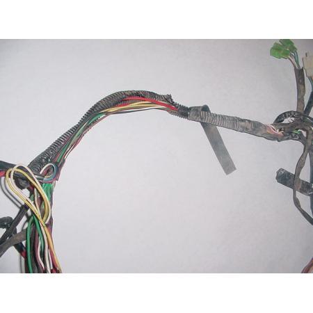 07 chinese zhejiang atv110 atv 110 oem main wiring harness click here to enlarge