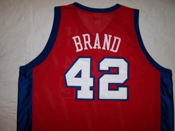 69b6263ea Adidas Swingman Sewn Los Angeles Clippers Elton Brand Jersey 56 3XL ...
