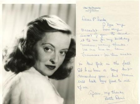 Joan Crawford Signed My Way of Life Hardcover 1st Edition 1st Prtg. (Last call)