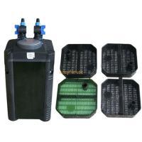 100 gal fish tank external canister filter w built in for Fish tank with built in filter