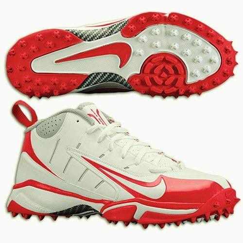 07103e17a9 Air Speed Destroyer 5/8 Turf White Oran Lacrosse Football Cleats Shoes