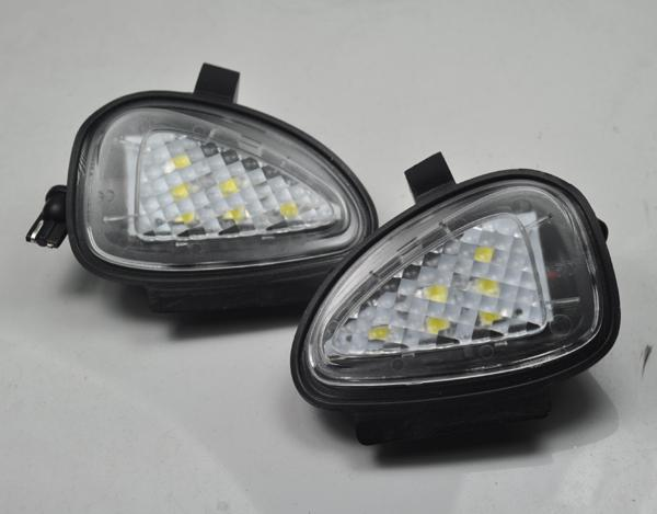 2x Error Free Led Side Mirror Puddle Light Vw Volkswagen