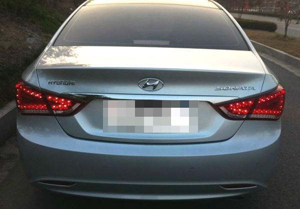 led integrate tail lamp light audi style for hyundai 2011 ... hyundai sonata tail light wiring #13