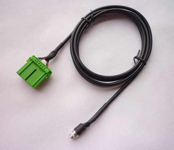 AUX Audio Input Cable Female 3.5 Mm IPod Mp3 For Honda