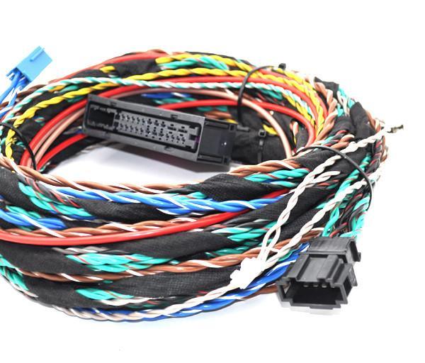 HIFI AUDIO retrofit kit cable harness For Mercedes Benz BURMESTER SOUND SYSTEM
