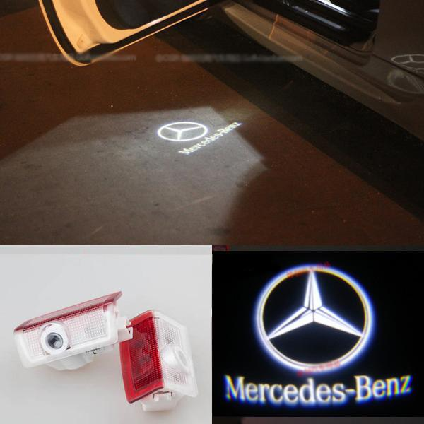 Led door laser projector lights mercedes a class forum for Mercedes benz door lights