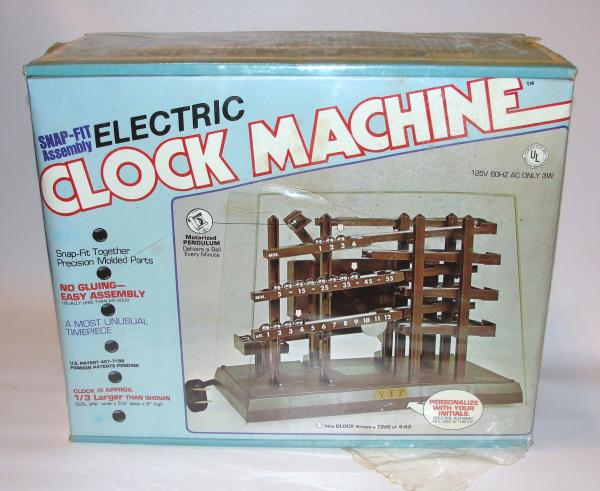time machine rolling clock